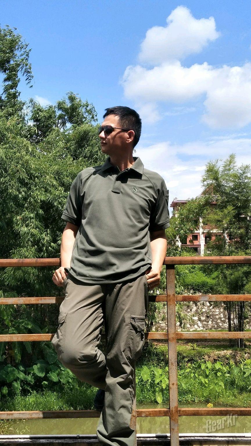 """自由随心该帅就帅,TRU-SPEC""""铁牌""""亚洲版短袖战术POLO衫测评"""