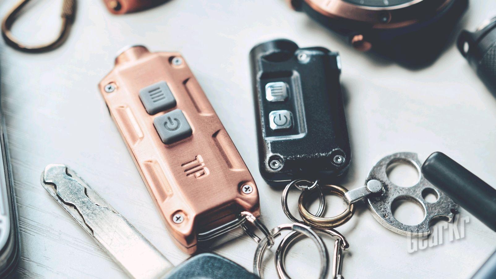 NITECORE TIP 红铜版,可以玩出逼格的钥匙扣手电