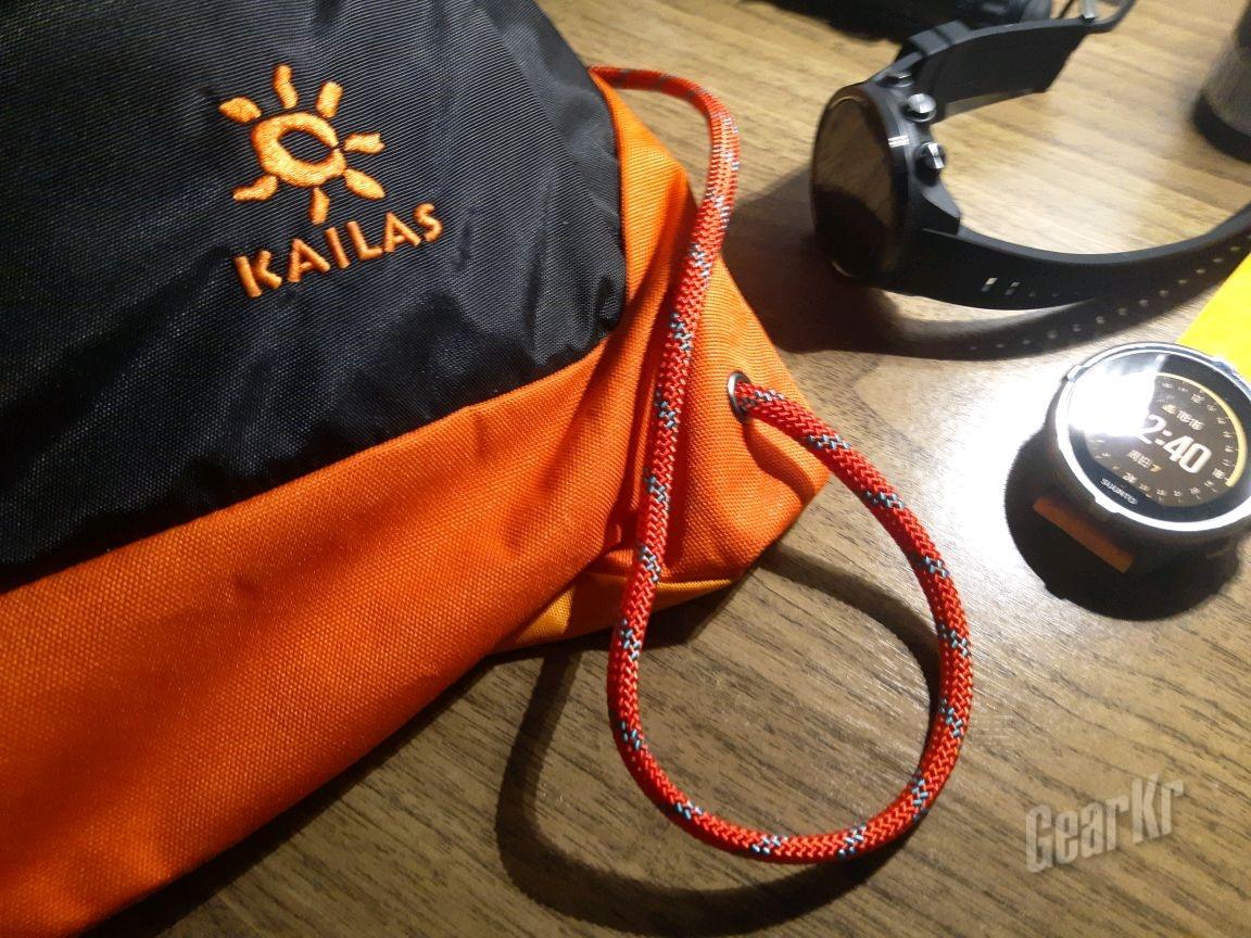 做一条登山绳风格的相机腕带