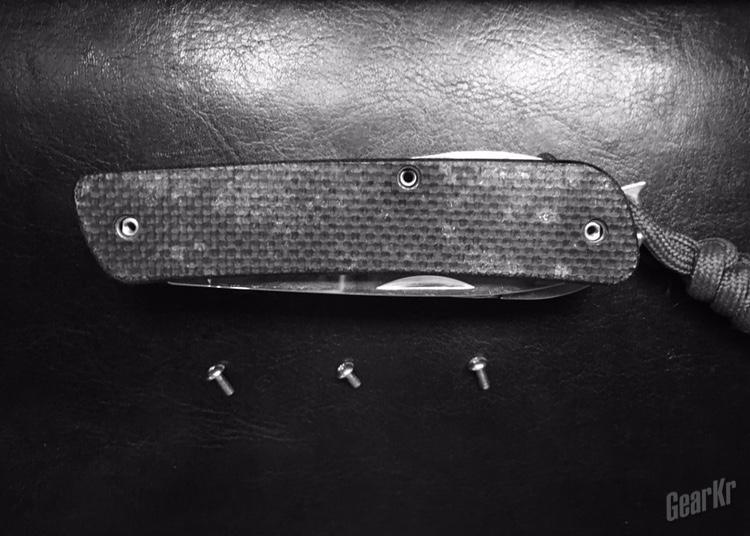 拆解测评一个三刃木多功能军刀