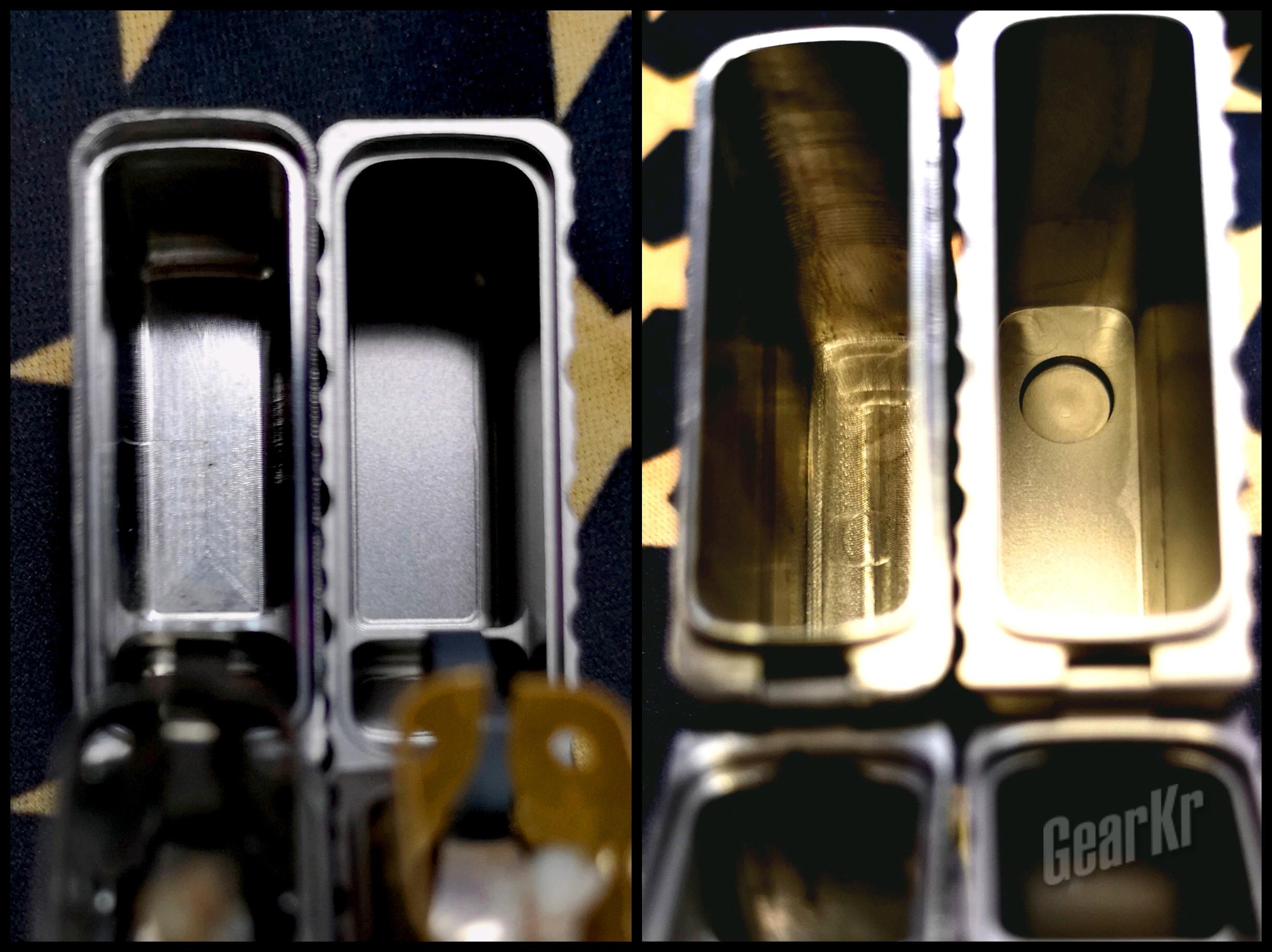 """泰坦神族的馈赠——钛合金版NAVI""""辐射""""打火机 简评及横向对比"""