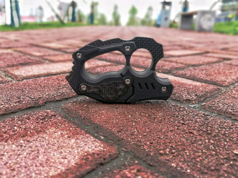 """""""拳""""力武装——C70""""屠""""碳纤维指虎"""