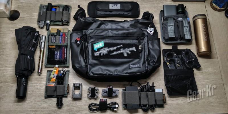 当战术小白遇上专业的战术背包——Magforce双面人战术携行袋
