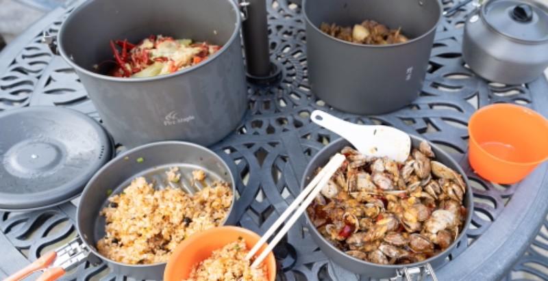 带上大厨带上火枫去野宴——火枫野宴锅具套装体验