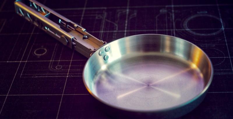 Keith钛合金煎蛋锅试用体验