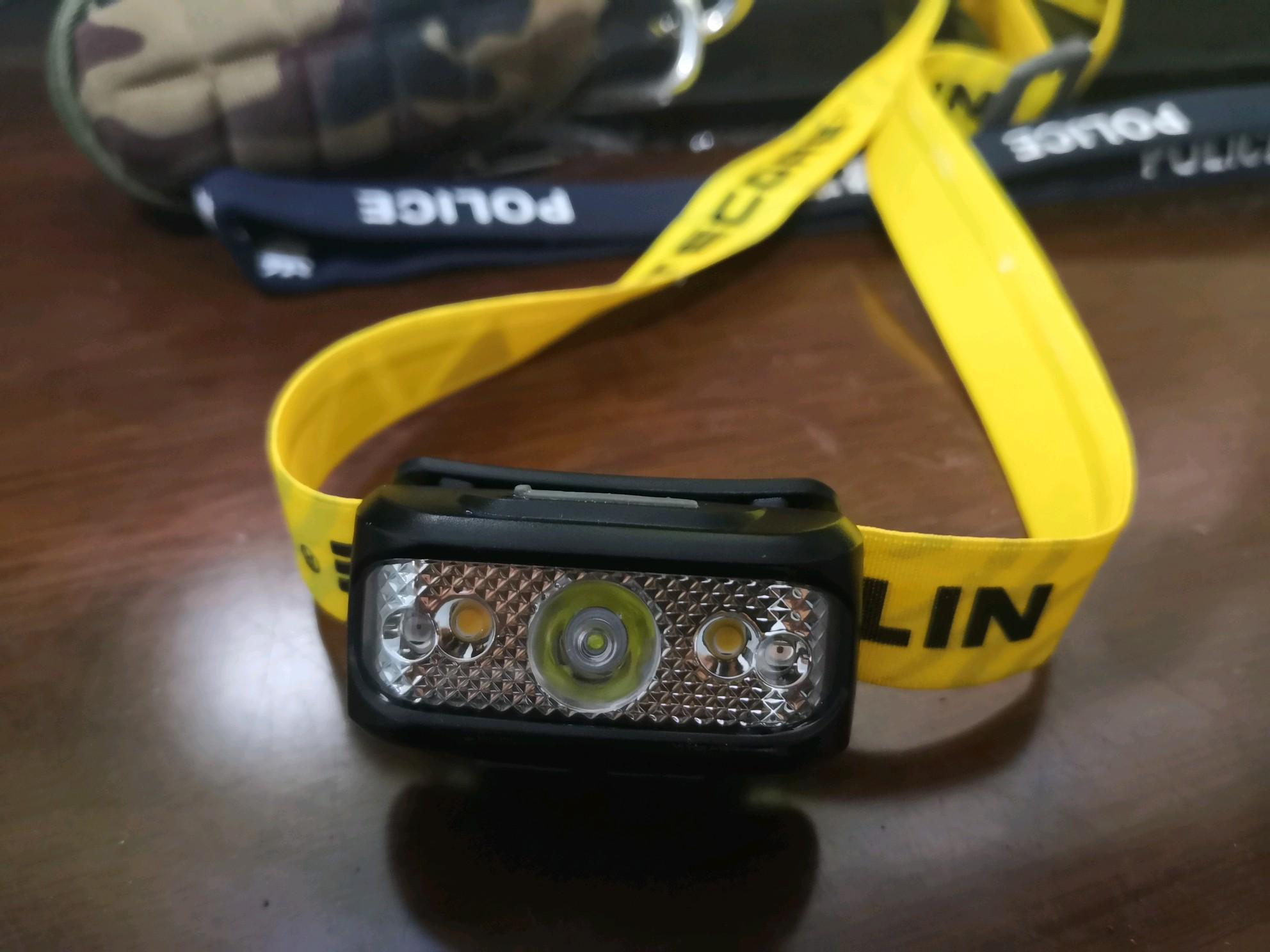 暗夜小精灵—奈特科尔NU17羽量级训练头灯实际环境测评