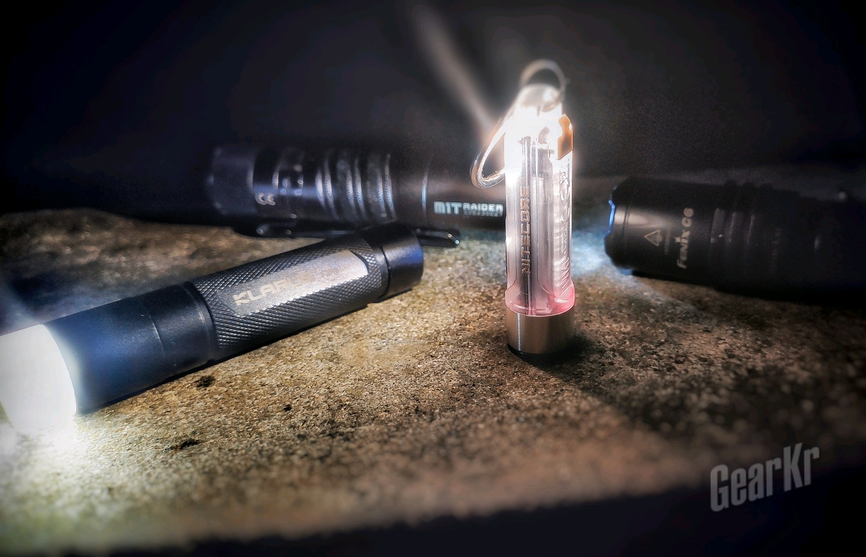 小身材,大能量——奈特科尔TIKI多用途钥匙灯测评