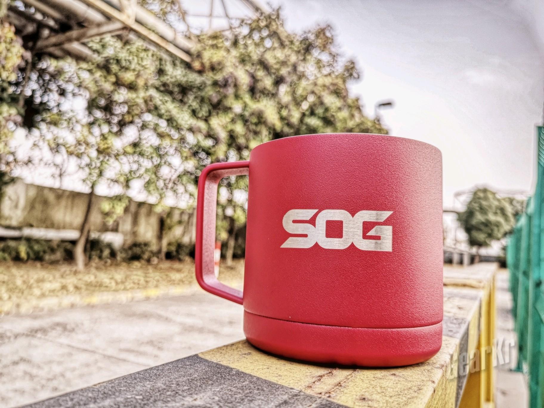 中军帐内坐 杯在手中握-SOG索格司令官不锈钢马克杯试用
