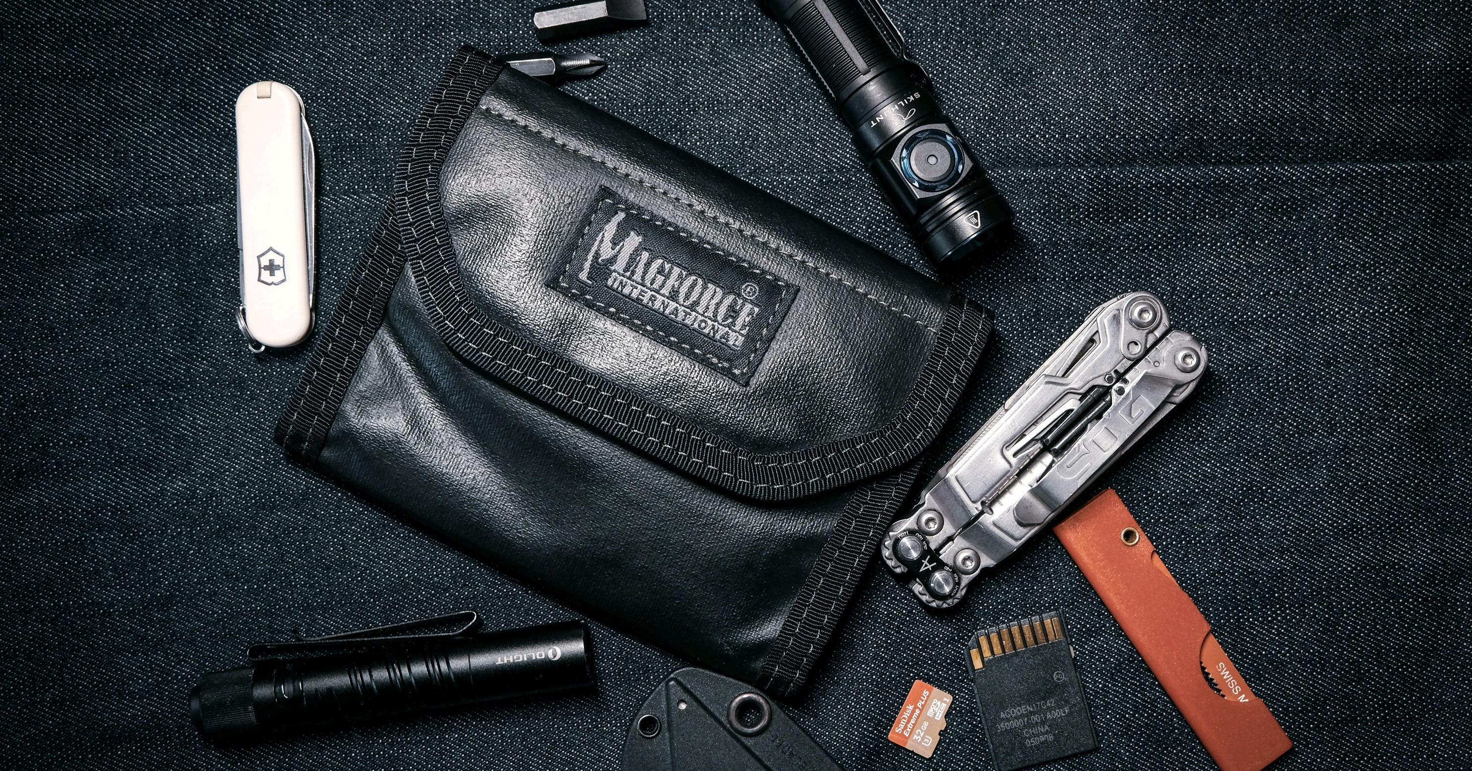 直男也精致-麦格霍斯0269 EDC-1 黑胶钱包测评